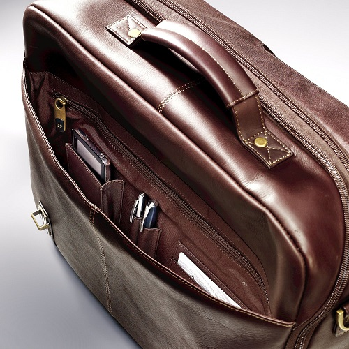 Samsonite Colombian Leather Messenger Bag Review. Samsonite Leather  Messenger under flap 172d98b568d94