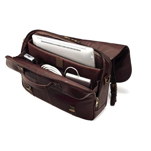 Samsonite Colombian Leather Messenger Bag Review  389fd6cf7c2f4