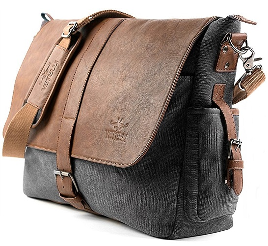 Vetelli laptop shoulder bag corner 58c3387380dfc
