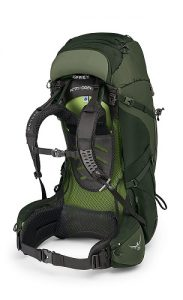 Osprey Aether AG Green Side