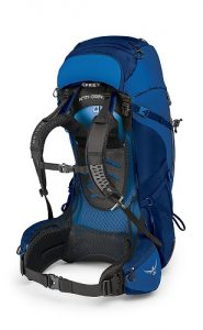 Osprey Aether AG Blue Side