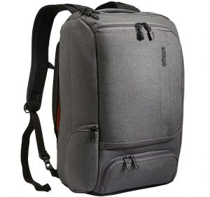 Grey eBags Slim Laptop Backpack