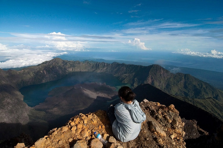 Mt Rinjani Summit