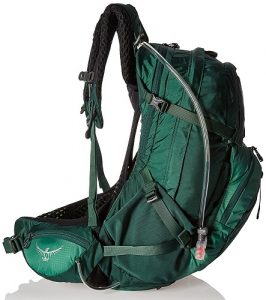 Osprey Manta AG 36 Spruce Green Side